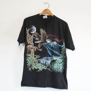 Vintage Bald Eagle T Shirt